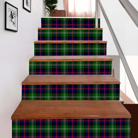 Scottishshop Tartan Stair Stickers - Sutherland I Stair Stickers - NAC