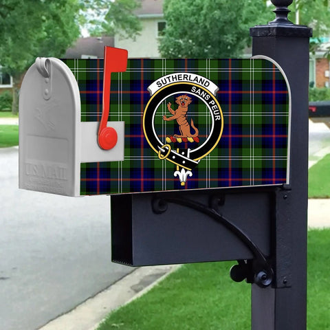 Image of ScottishShop Mailbox Cover - Sutherland I Tartan Mailbox (Custom)