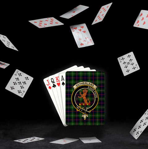ScottishShop Sutherland I Playing Card - Tartan Playing Card Royal Style