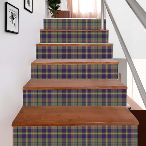 Image of Scottishshop Tartan Stair Stickers - Taylor Stair Stickers - NAC