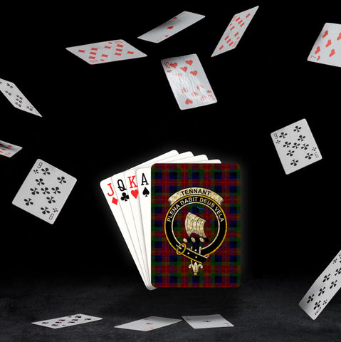 ScottishShop Tennant Playing Card - Tartan Playing Card Royal Style