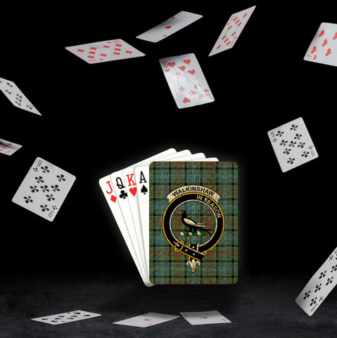 ScottishShop Walkinshaw Playing Card - Tartan Playing Card Royal Style