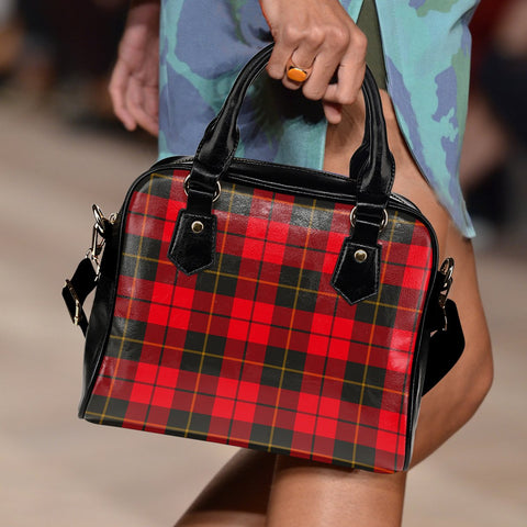 Wallace Weathered Tartan Shoulder Handbag for Women | Hot Sale | Scottish Clans