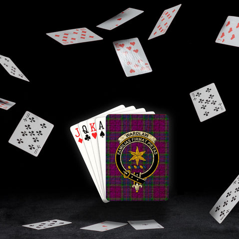 Image of ScottishShop Wardlaw Playing Card - Tartan Playing Card Royal Style