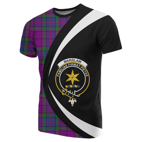 Image of Wardlaw Modern Tartan T-shirt Circle