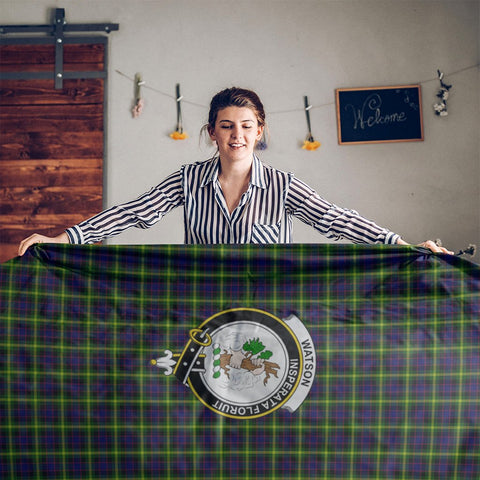 Watson Crest Tartan Tablecloth | Home Decor