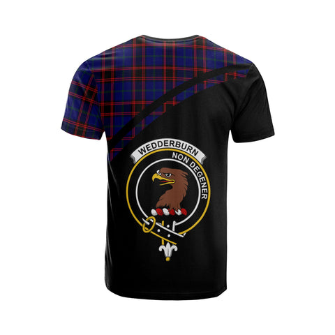 Image of Wedderburn Tartan All Over T-Shirt - Curve Style