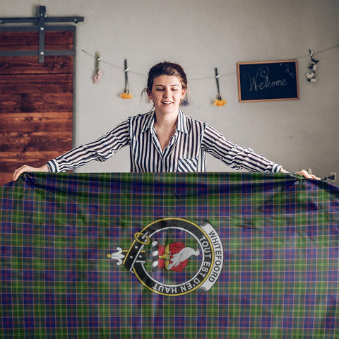 Whiteford Crest Tartan Tablecloth | Home Decor