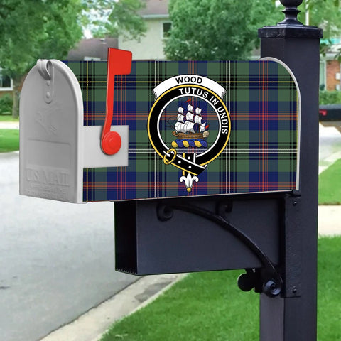 ScottishShop Mailbox Cover - Wood Tartan Mailbox (Custom)