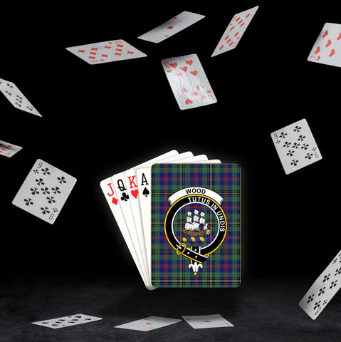 ScottishShop Wood Playing Card - Tartan Playing Card Royal Style