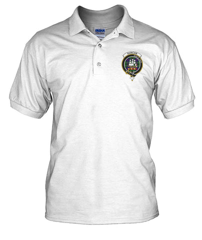 Polo T-Shirt - Duncan Tartan Polo T-shirt for Men and Women