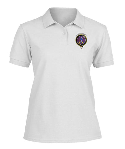 Image of Polo T-Shirt - Montgomery Tartan Polo T-shirt for Men and Women