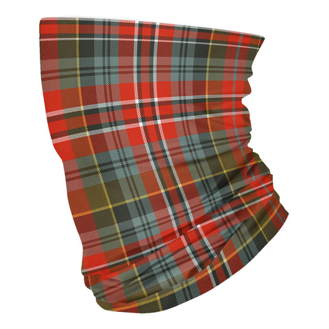 Scottish MacPherson Weathered Tartan Neck Gaiter  (USA Shipping Line)