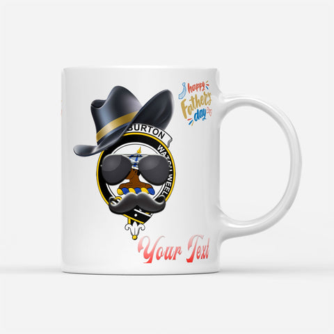 ScottishShop Custom Tartan Mug  - Haliburton Badge