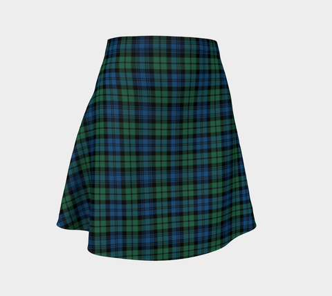 Image of Tartan Flared Skirt - Campbell Ancient 02 |Over 500 Tartans | Special Custom Design | Love Scotland