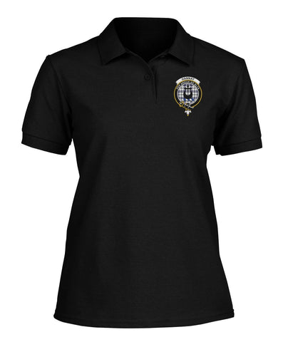 Image of Polo T-Shirt - Hannay Tartan Polo T-shirt for Men and Women
