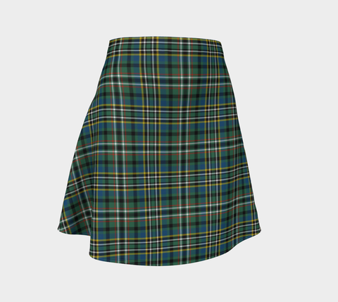 Tartan Flared Skirt - SCOTT GREEN ANCIENT |Over 500 Tartans | Special Custom Design | Love Scotland
