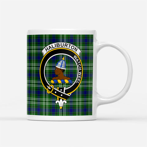 Image of ScottishShop Custom Tartan Mug Haliburton Tartan Mug