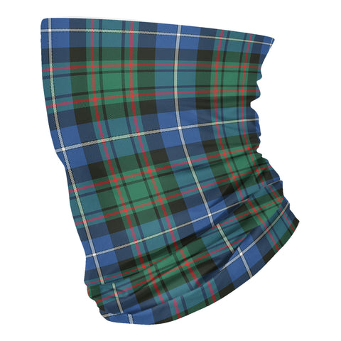 Scottish MacRae Hunting Ancient Tartan Neck Gaiter  (USA Shipping Line)
