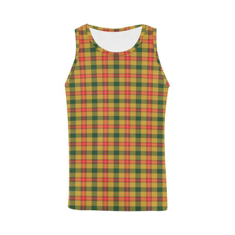 Baxter Tartan All Over Print Tank Top Nl25 Xs / Men Tops