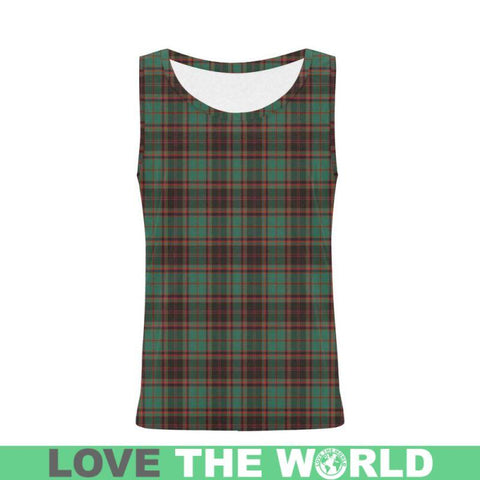 Buchan Ancient Tartan All Over Print Tank Top Nl25 Xs / Men Tops