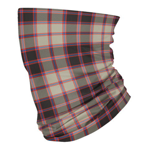 Scottish MacPherson Hunting Ancient Tartan Neck Gaiter  (USA Shipping Line)