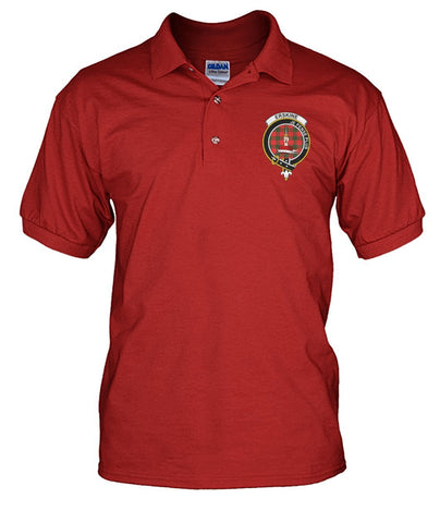Erskine Tartan Polo T-shirt for Men and Women
