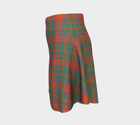 Tartan Flared Skirt - MacKintosh Ancient |Over 500 Tartans | Special Custom Design | Love Scotland