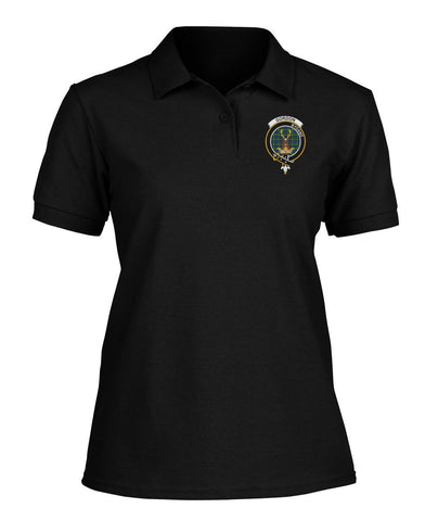 Image of Polo T-Shirt - Gordon Tartan Polo T-shirt for Men and Women