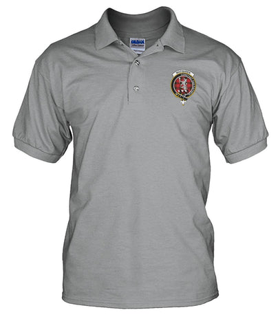 Image of Polo T-Shirt - MacQueen Tartan Polo T-shirt for Men and Women