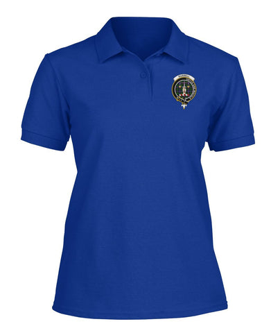 Polo T-Shirt - Russell Tartan Polo T-shirt for Men and Women