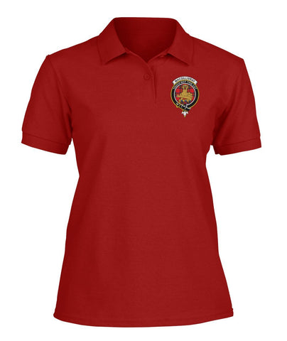 Polo T-Shirt - MacGillivray Tartan Polo T-shirt for Men and Women