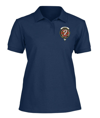 Polo T-Shirt - Lennox Tartan Polo T-shirt for Men and Women