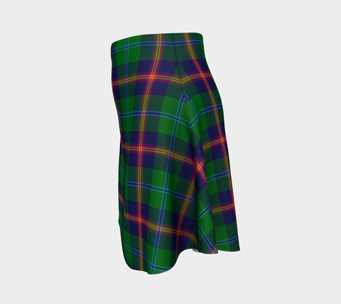 Image of Tartan Flared Skirt - Young Modern |Over 500 Tartans | Special Custom Design | Love Scotland