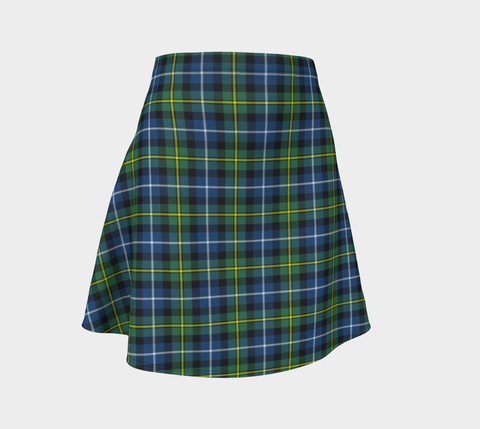 Tartan Flared Skirt - MacNeill of Barra Ancient |Over 500 Tartans | Special Custom Design | Love Scotland