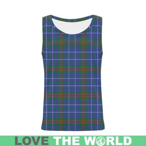 Edmonstone Tartan All Over Print Tank Top Nl25 Xs / Men Tops