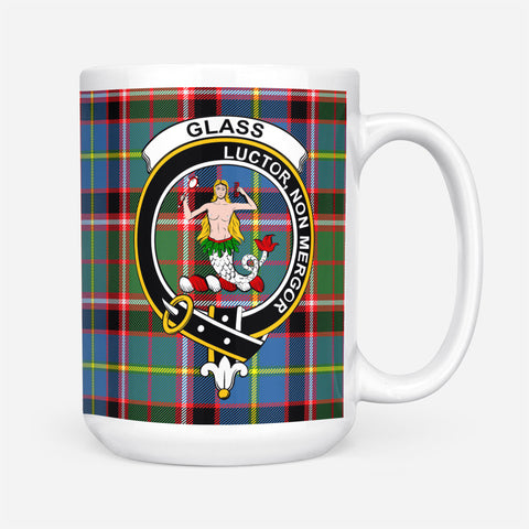 Image of Glass Tartan Mug