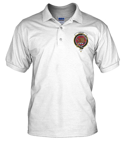 Leslie (Earl of Rothes) Tartan Polo T-shirt for Men and Women