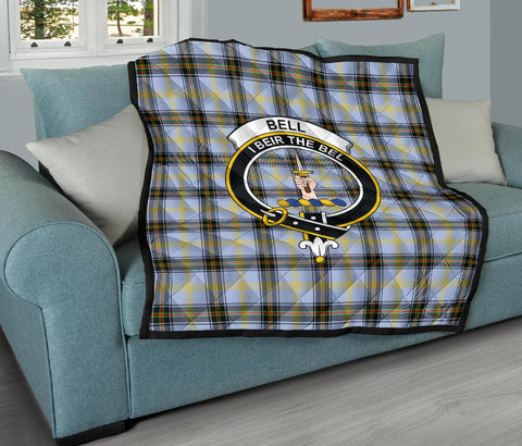 Premium Quilt - Bell of the Borders Tartan Quilt - Clan Crest TH8