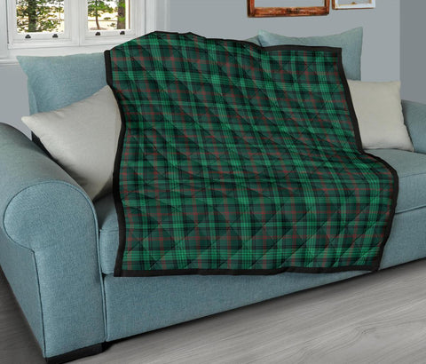 Image of Premium Quilt - Ross Hunting Modern Tartan Quilt TH8