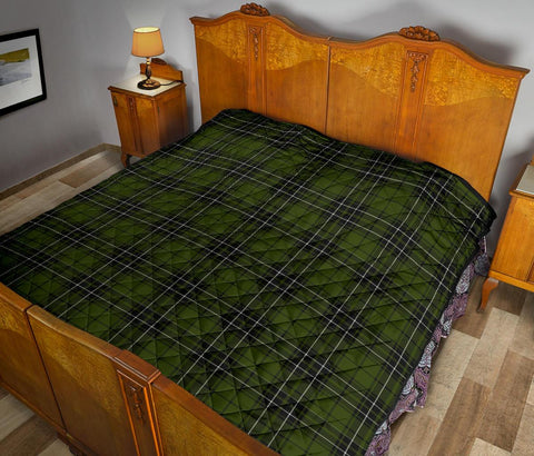 Image of Premium Quilt - MacLean Hunting Tartan Quilt TH8