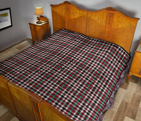 Image of Premium Quilt - Borthwick Dress Ancient Tartan Quilt TH8