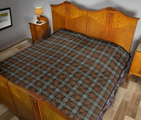 Image of Premium Quilt - Fergusson Weathered Tartan Quilt TH8