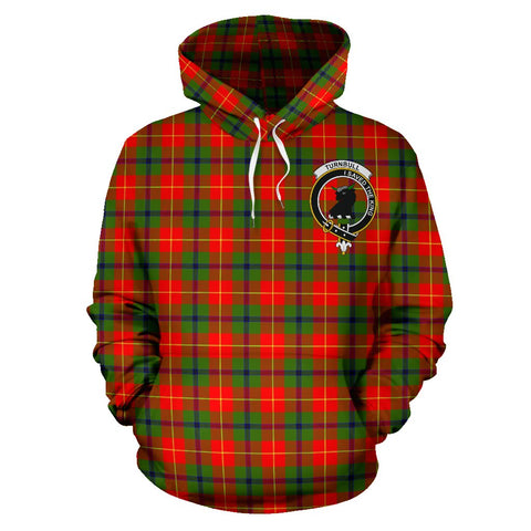 Tartan Clan Turnbull Plaid Hoodie With Crest