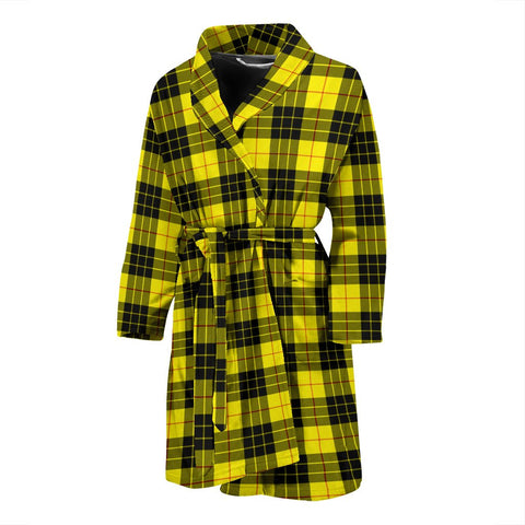 Image of ScottishShop MacLeod Of Lewis Modern Bathrobe | Men Tartan Plaid Bathrobe