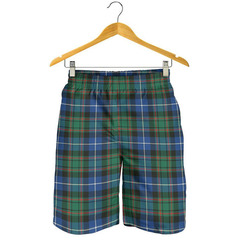 Tartan Mens Shorts - Clan MacRae Hunting Ancient Plaid Shorts