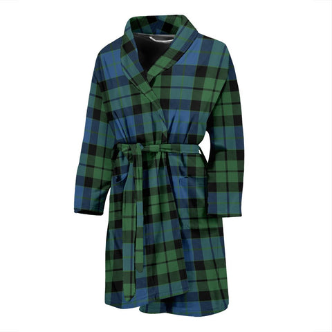 Image of ScottishShop MacKay Ancient Bathrobe | Men Tartan Plaid Bathrobe