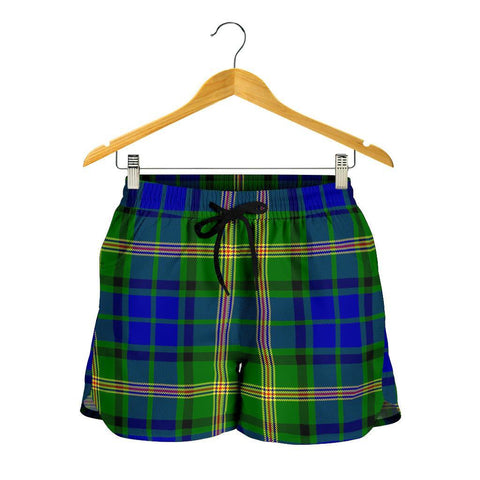 Maitland Tartan Shorts For Women