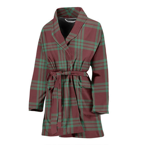 MacGregor Hunting Ancient Bathrobe | Women Tartan Plaid Bathrobe | Universal Fit