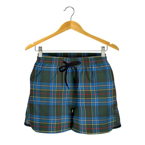 Cockburn Modern Tartan Shorts For Women
